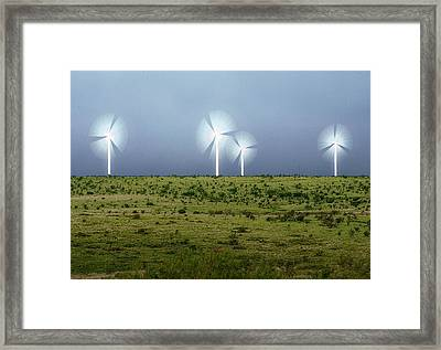 Storms And Halos Framed Print