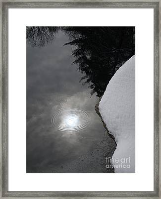 Storms End Framed Print by Chad Natti