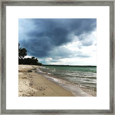Storms Framed Print