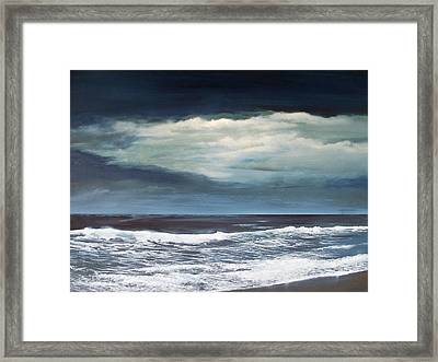 Storms Never Last Framed Print by Ken Ahlering