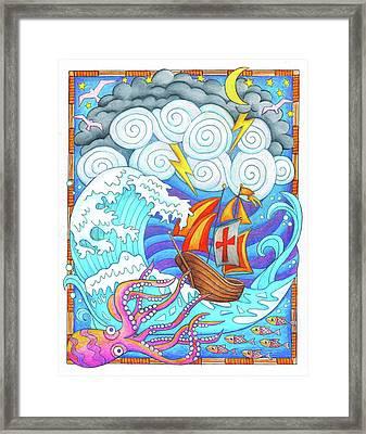 Storms Of Life Framed Print by Jennifer Allison