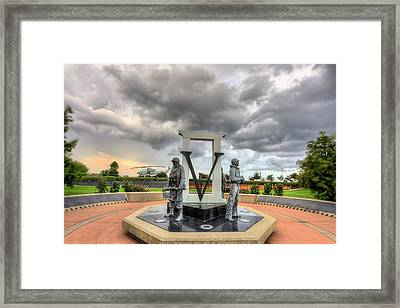 Storms Past And Present  Framed Print by JC Findley