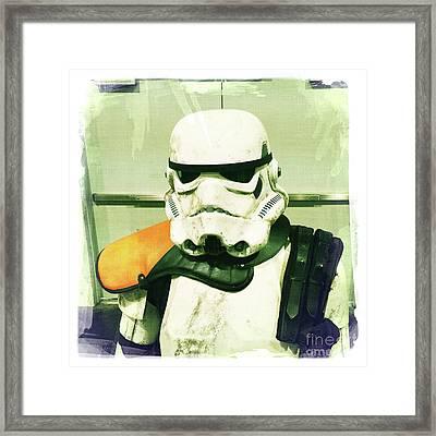 Stormtrooper 2 Framed Print