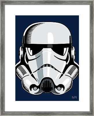 Stormtrooper Framed Print by IKONOGRAPHI Art and Design