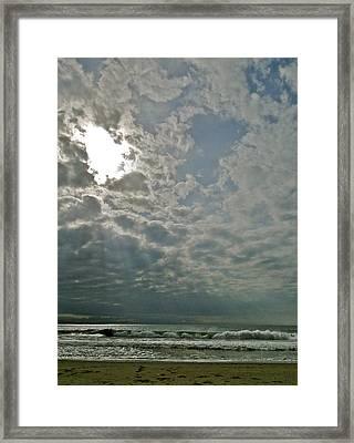 Stormy Afternoon Framed Print by Liz Vernand