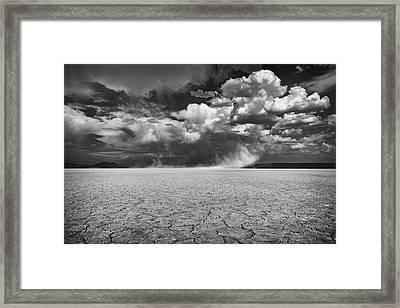 Stormy Alvord Framed Print