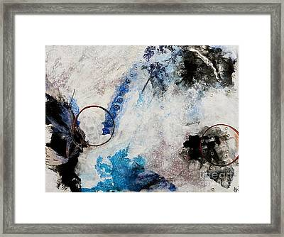 Stormy Bird Framed Print