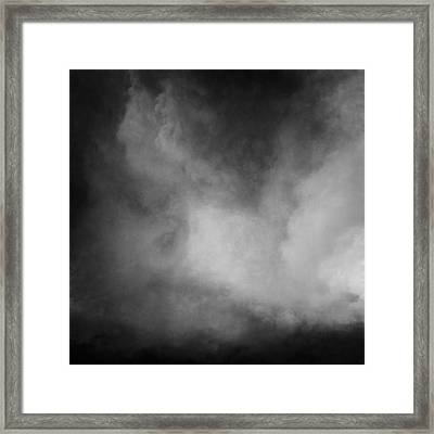 Stormy Blackness Framed Print by Lonnie Christopher