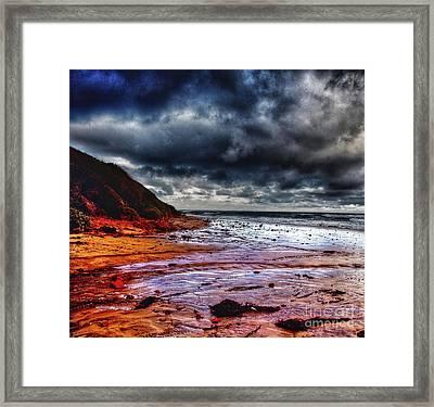 Stormy Day Framed Print by Blair Stuart