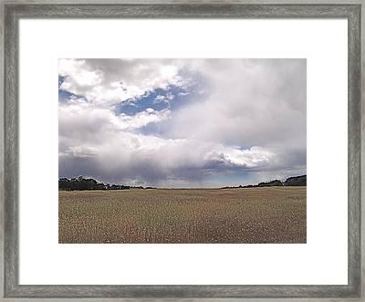 Stormy Day Framed Print by John Norman Stewart