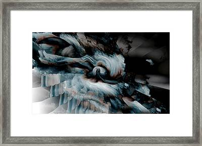 Stormy Emotions Framed Print
