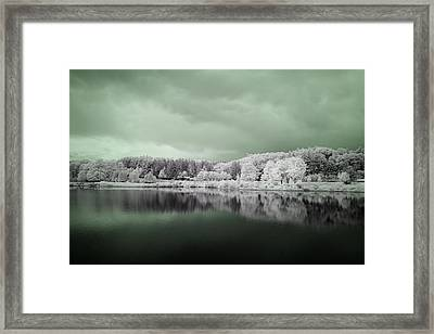Stormy Friday Framed Print by Luke Moore