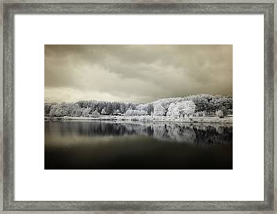 Stormy Friday - Number 2 Framed Print by Luke Moore