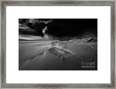 Stormy Luskentyre Framed Print