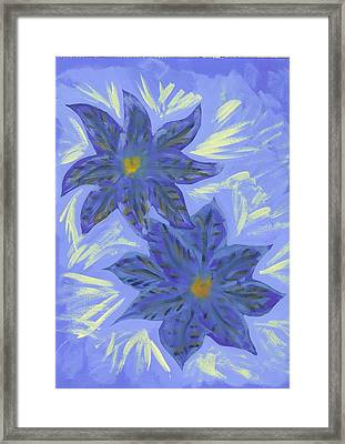 Stormy Monday Framed Print by Laura Lillo