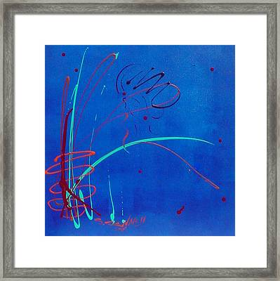 Stormy Monday Framed Print by Simone Fennell