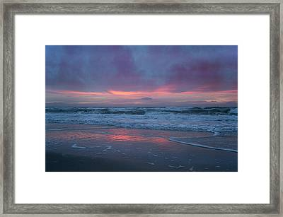 Stormy Morning Glory Framed Print
