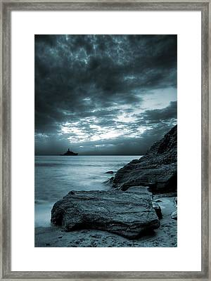 Stormy Ocean Framed Print by Jaroslaw Grudzinski
