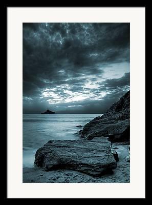 Shore Digital Art Framed Prints