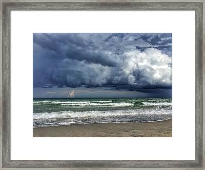 Stormy Ocean Framed Print