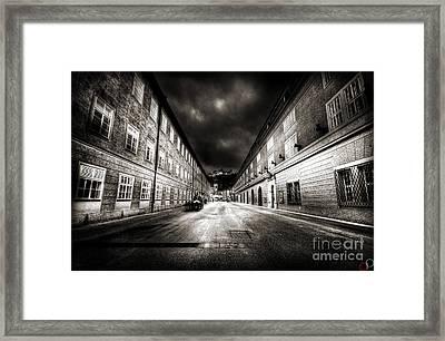 Stormy Salzburg Framed Print by Luke Griffin