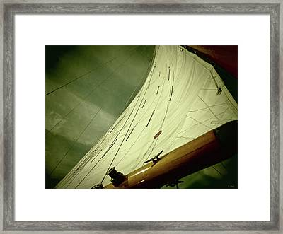 Stormy Sea Framed Print by Tony Grider