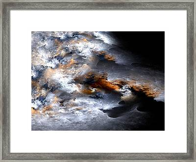Stormy Seas Framed Print by Amorina Ashton