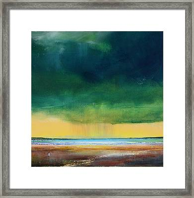 Stormy Seas Framed Print by Toni Grote