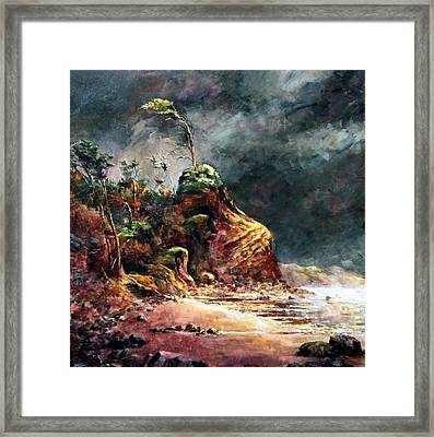 Stormy Skies Framed Print