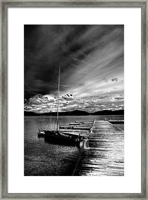 Stormy Skies Framed Print by David Patterson