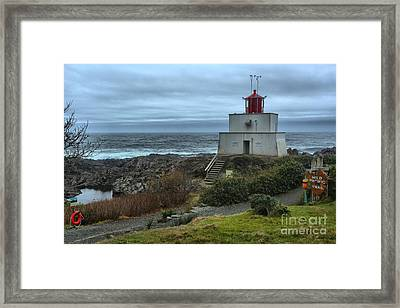 Stormy Skies Over Amphitrite Framed Print by Adam Jewell