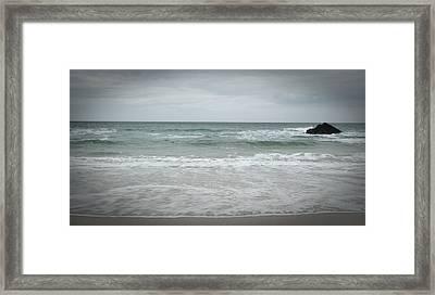 Stormy Sky Framed Print by Helen Northcott