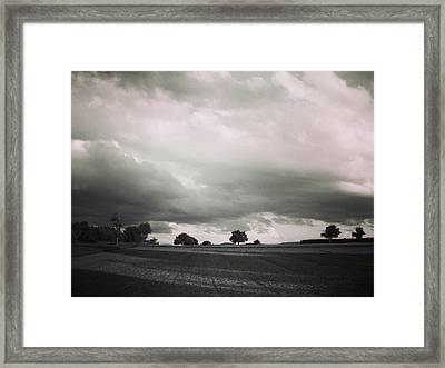 Stormy Times Framed Print