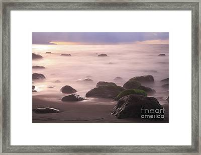 Stormy Tranquility Framed Print by Gaspar Avila