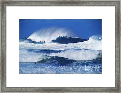 Stormy Water Framed Print by Carl Shaneff - Printscapes