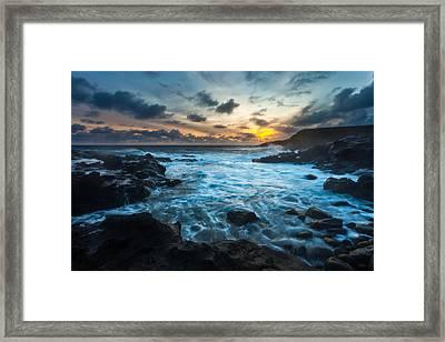 Stormy Waters Framed Print by Thorsten Scheuermann