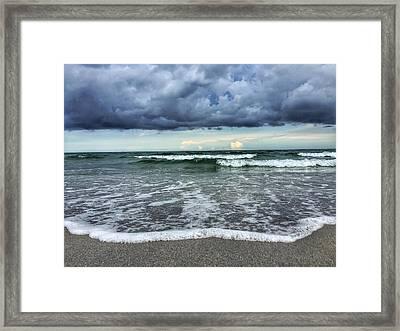 Stormy Waves Framed Print
