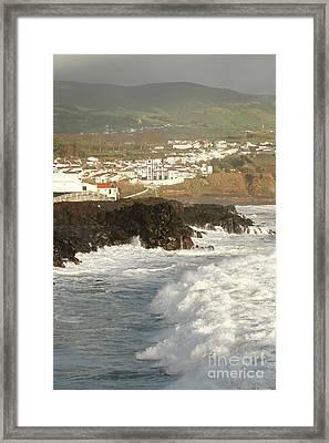 Stormy Weather - Azores Framed Print by Gaspar Avila