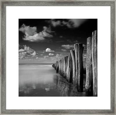 Stormy Weather Framed Print by Christiane Michaud