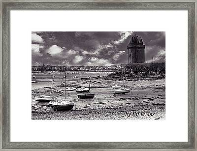 Framed Print featuring the photograph Stormy Weather by Elf Evans