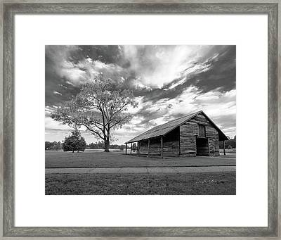 Framed Print featuring the photograph Stormy Weather by George Randy Bass