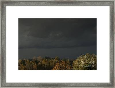 Stormy Weather Framed Print by Jim Corwin