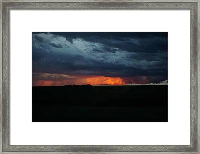 Stormy Weather Framed Print by Kathy M Krause