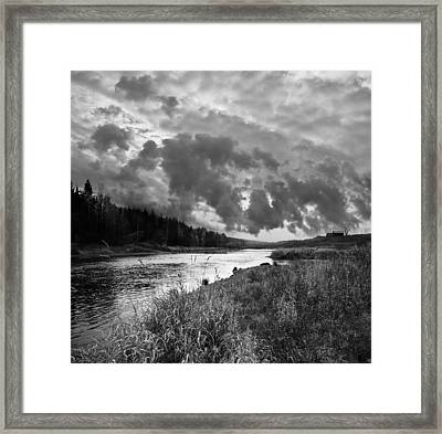 Framed Print featuring the photograph Stormy Weather by Vladimir Kholostykh