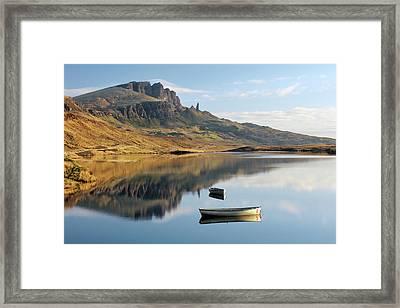 Storr Reflection Framed Print