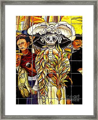 Story Of Mexico 7 Framed Print by Mexicolors Art Photography