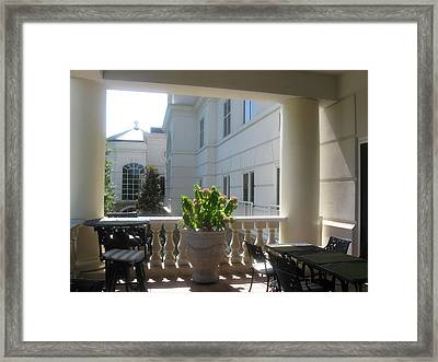 Story Of Walls Framed Print
