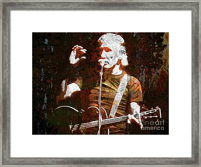 Story Tellin Framed Print by Robert Ball