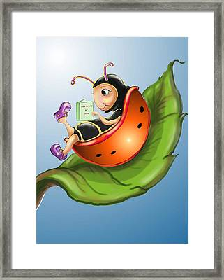 Story Time Framed Print by Hank Nunes