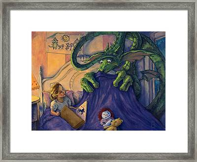 Story Time Framed Print by Michael Orwick